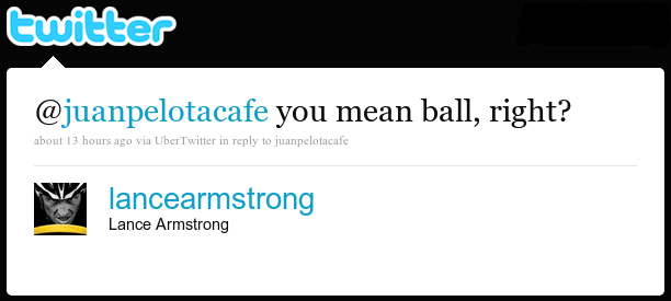lancearmstrong reply tweet